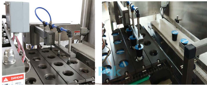 K cup filling sealing machines