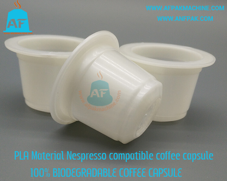 biodegradable coffee capsule