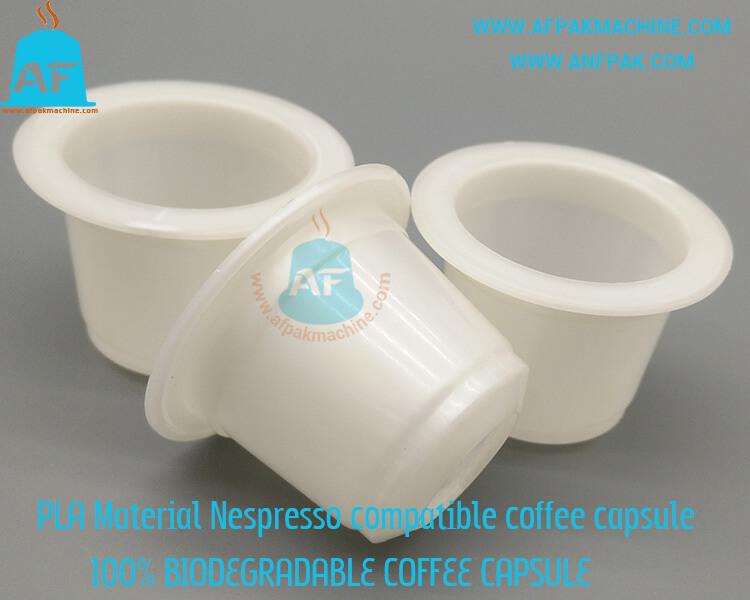 biodegradable nespresso compatible offee capsule