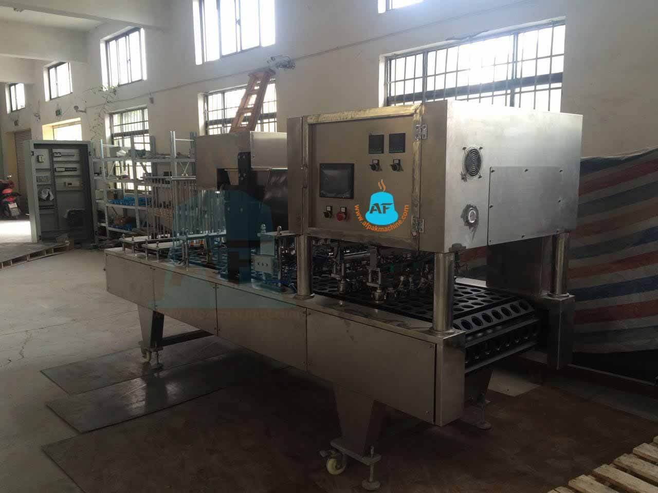Sides of Kcup filling sealing machine