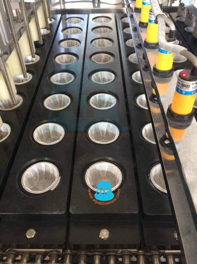 sensors of kcup filling machine