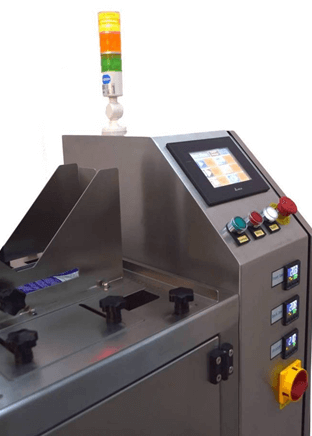 control panel of coffee capsule packing machine