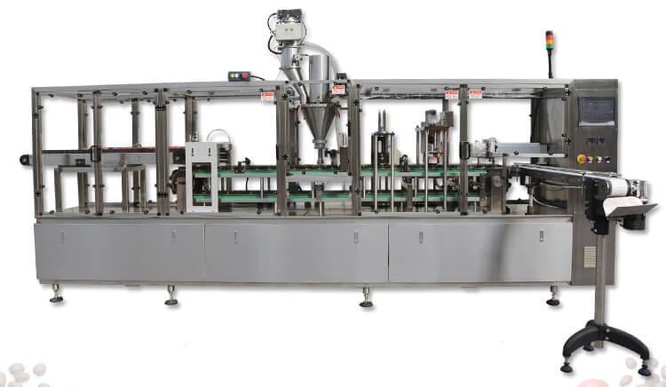 nespresso capsule filling and sealing machine