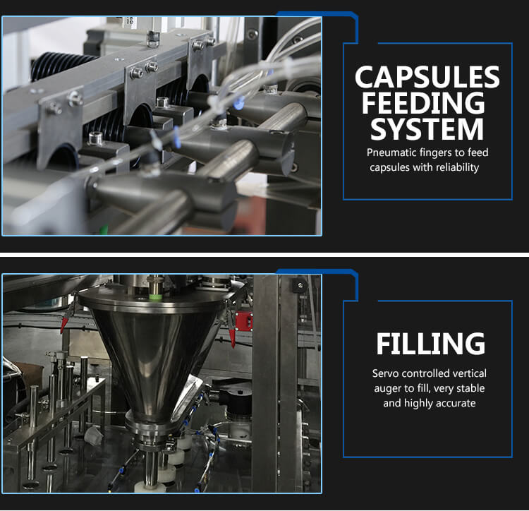 K-fee filling sealing machine