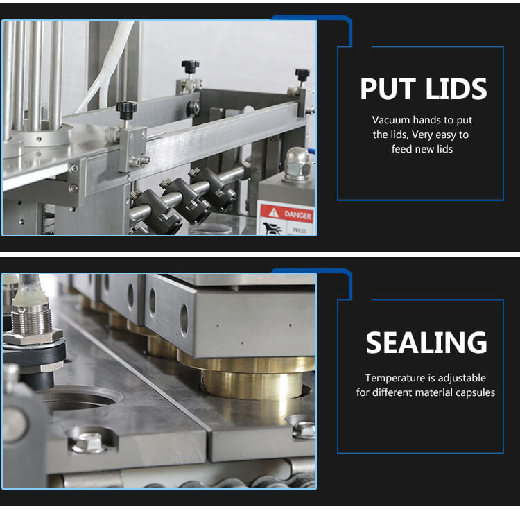 caffitaly filling sealing machine