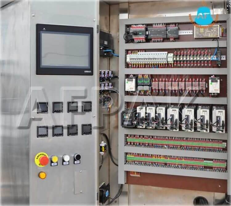 K cup filling machine control box