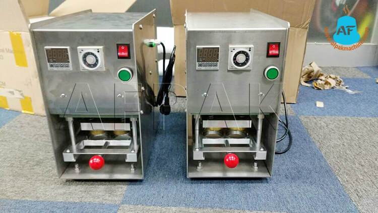 Dolce gusto sealing machine