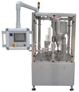 Rotary K cup filling sealing machine