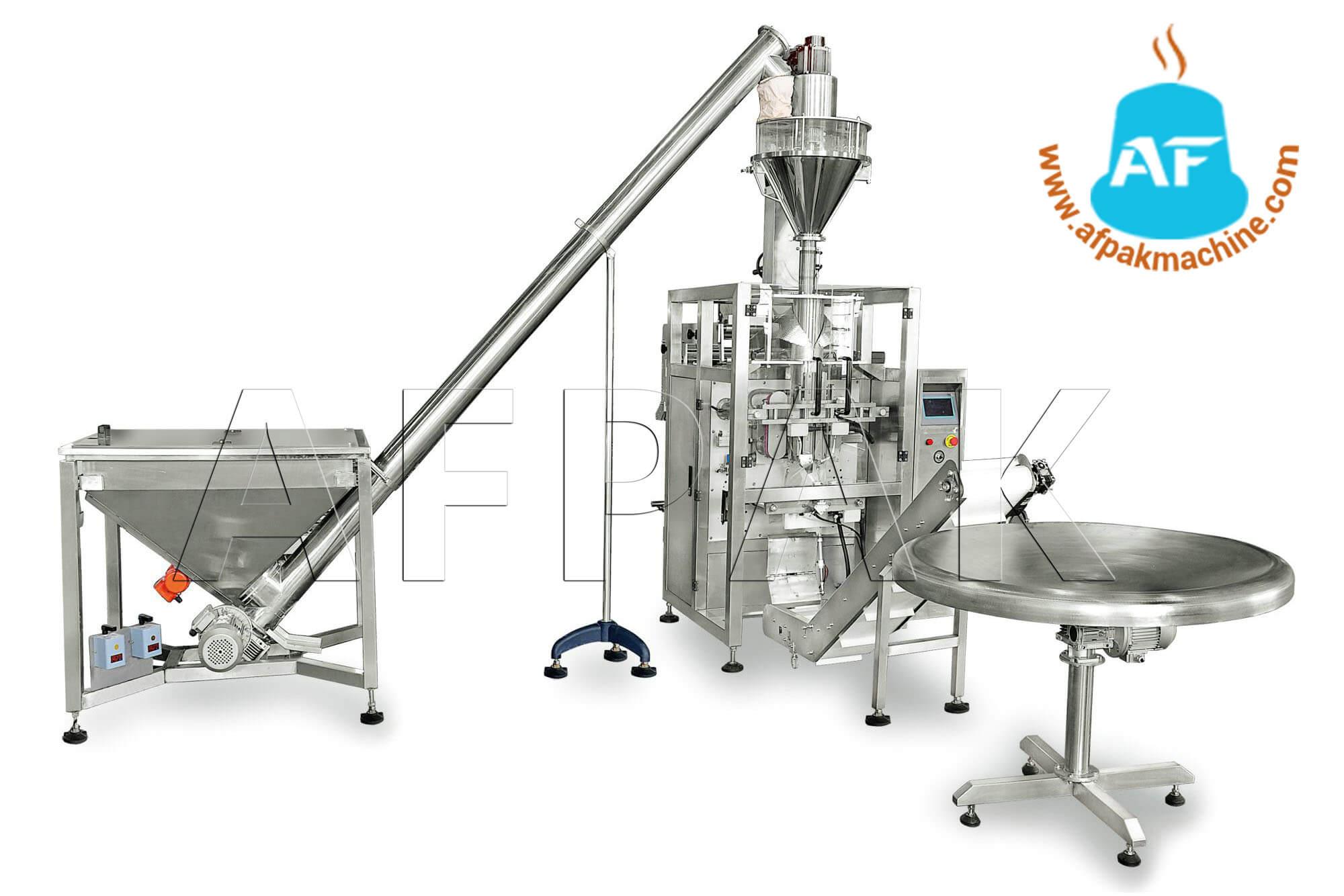 Coffee Bags Forming Filling Sealing Machine Afpak