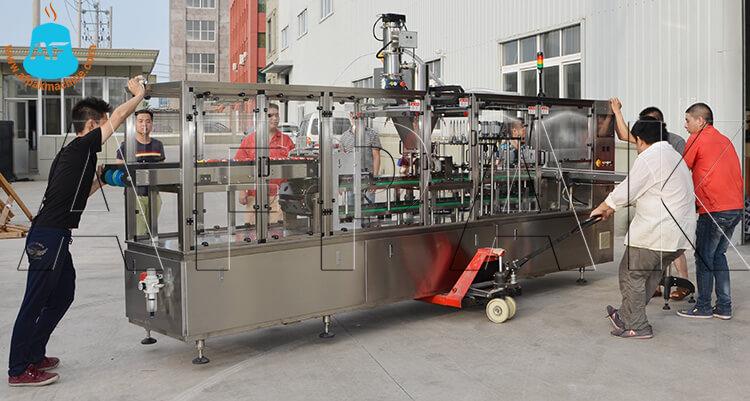 coffee capsule filling machine 2