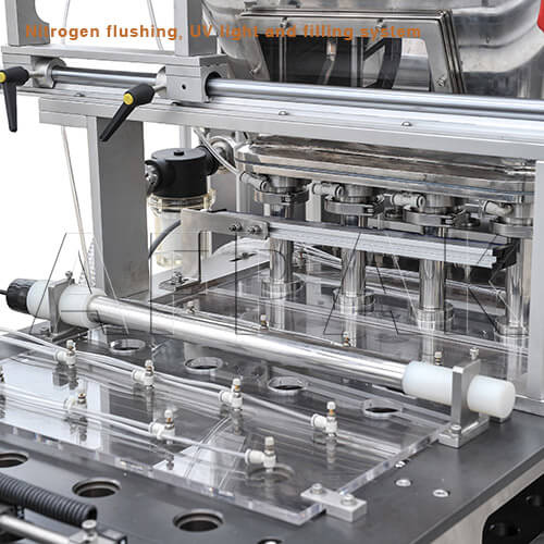 filler of nespresso filling sealing machine