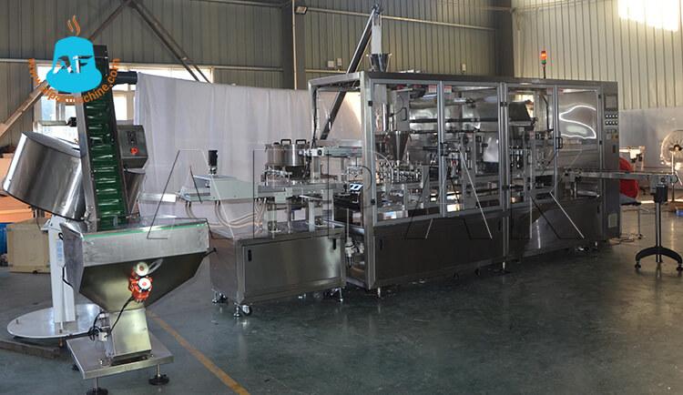 Dolce gusto filling sealing packaging machine