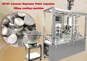 H1 lavazza point filling sealing machine