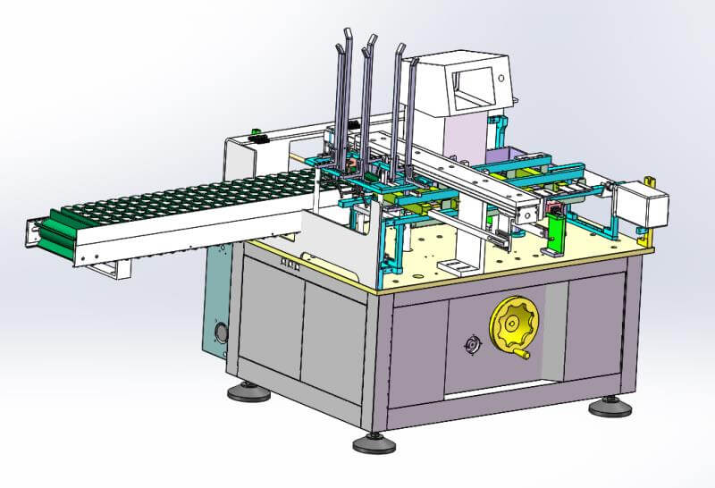 box packaging machine